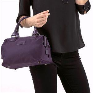 Lipault Paris Purple Lady Plume Bowling Bag S